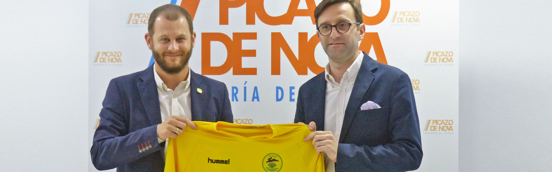 Picazo de Nova patrocina al Atlético Tomelloso